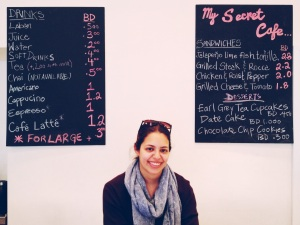 "owner and mastermind behind the fresh and delicious little cafe ""my secret cafe"""